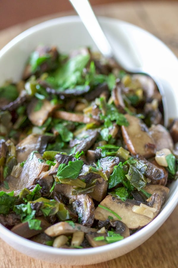 Mexican Chipotle Mushrooms i