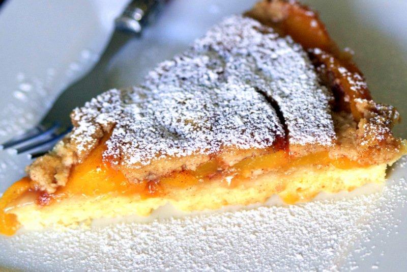 German Peach Kuchen