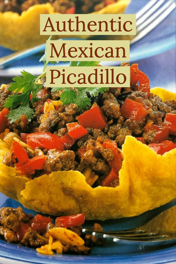 4 servings Delicious Authentic Mexican Picadillo brings the flavors of Mexico to your table. A popular recipe in most Latin American countries, this dish is similar with the American hash. It is a basic recipe that can feed a crowd. Also, the leftovers are great. Serve it with warm corn tortillas as a main dish, or as appetizer. #picadillo #Mexicanpicadillo #easyMexicanrecipes