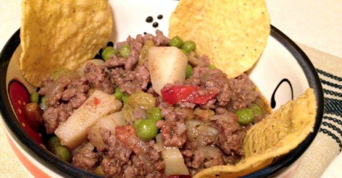 Authentic Mexican Picadillo