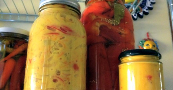 Mustard Pickled Vegetables- A Winter Delight