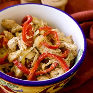 Authentic Mexican Chicken Fajitas Fajitas De Pollo 1