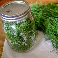 How To Salt Preserve Herbs For Winter1