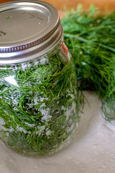 How To Salt Preserve Herbs For Winter