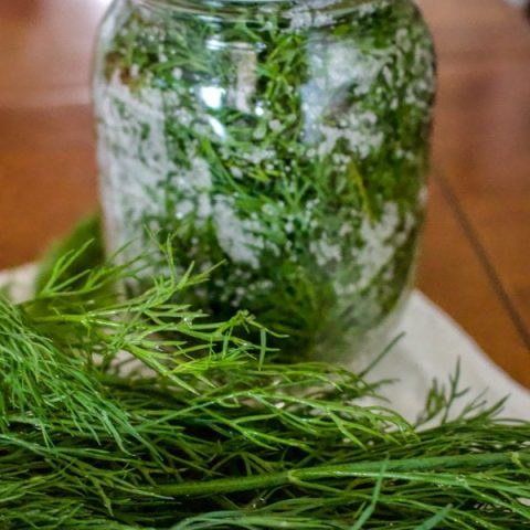 How To Salt Preserve Herbs For Winter5