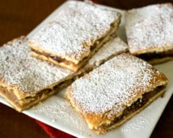 Apple Pie Bars- Romanian Slab Pie