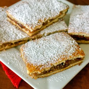 Apple Pie Bars Romanian Slab Pie Recipe