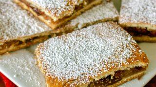 Apple Pie Bars Romanian Slab Pie Recipe