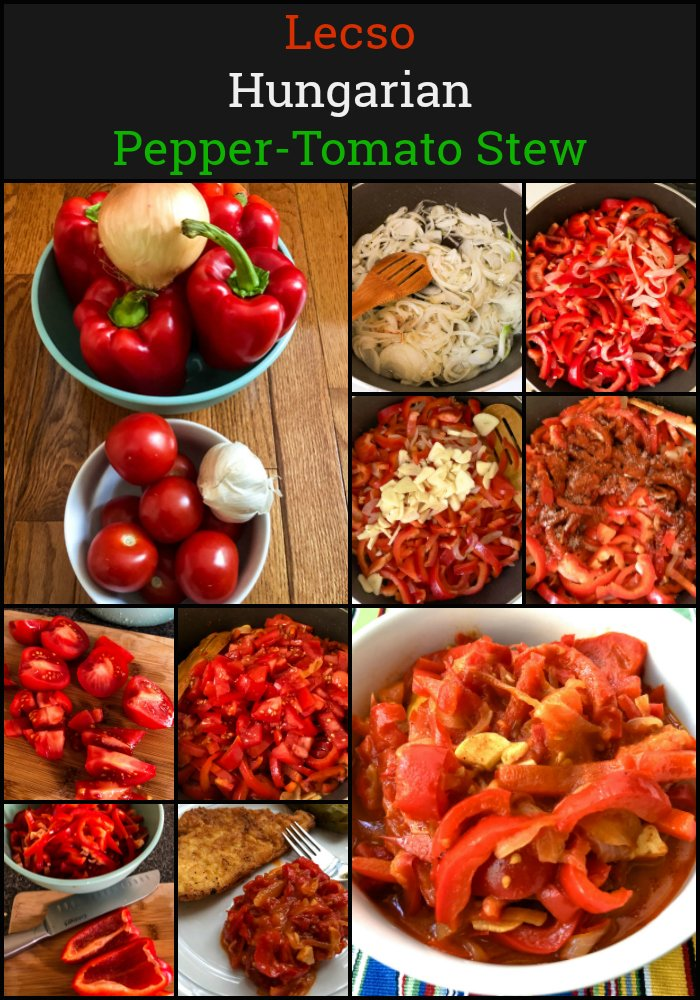 Lecso Hungarian Pepper Tomato Stew 2