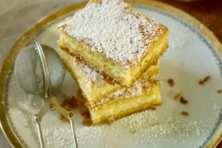 Lemon Ricotta Cheese Cake
