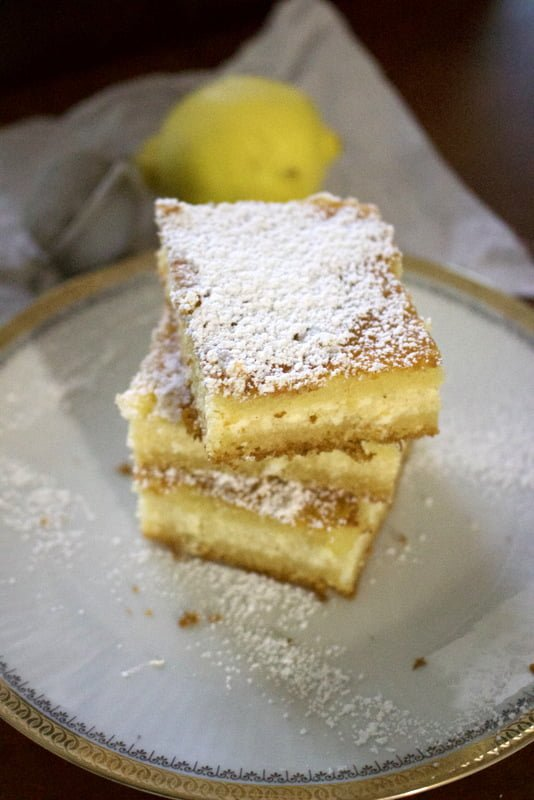Lemon Ricotta Cheese Cake
