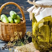 Pickled Cucumbers In Vinegar Easy Recipe Featured Photo
