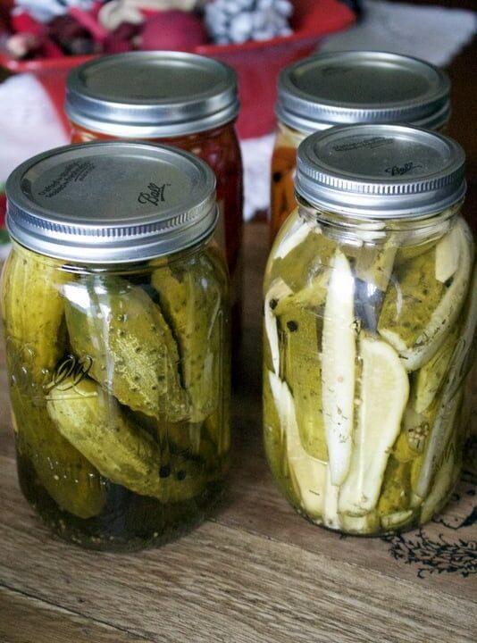 Pickled Cucumbers In Vinegar Easy Recipe