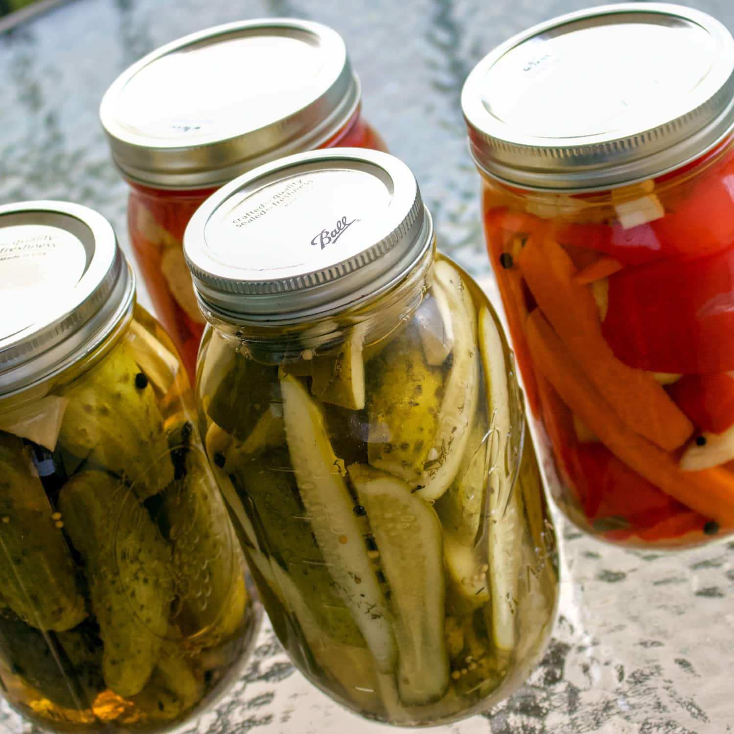 Pickled cucumbers in vinegar- easy recipe- pickle cucumbers in the fall and store them in a cool place. Consume them all winter with your favorite foods.