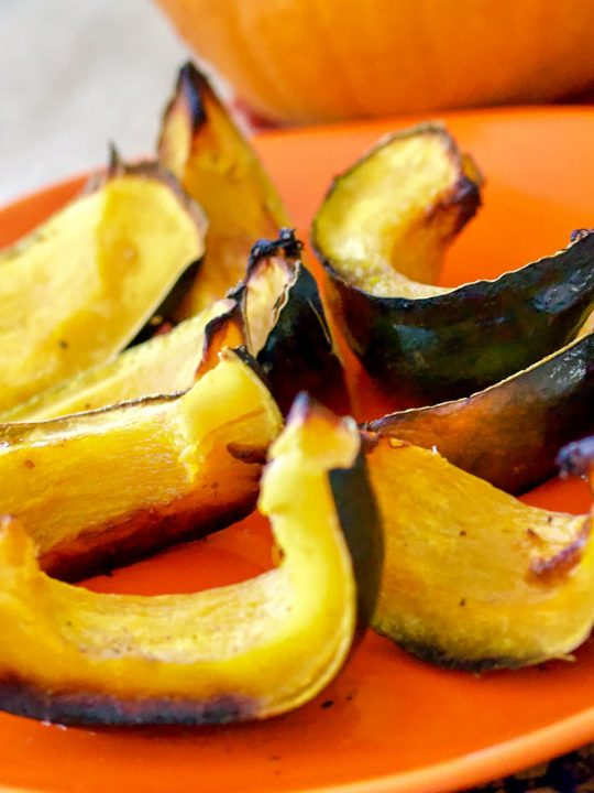 Roasted Kabocha Squash With Coconut Oil 1