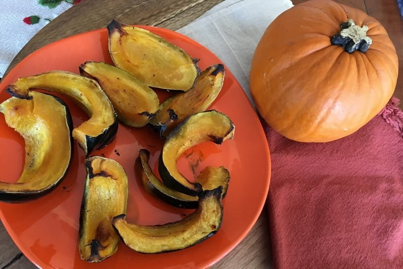 Roasted Kabocha Squash With Coconut Oil2