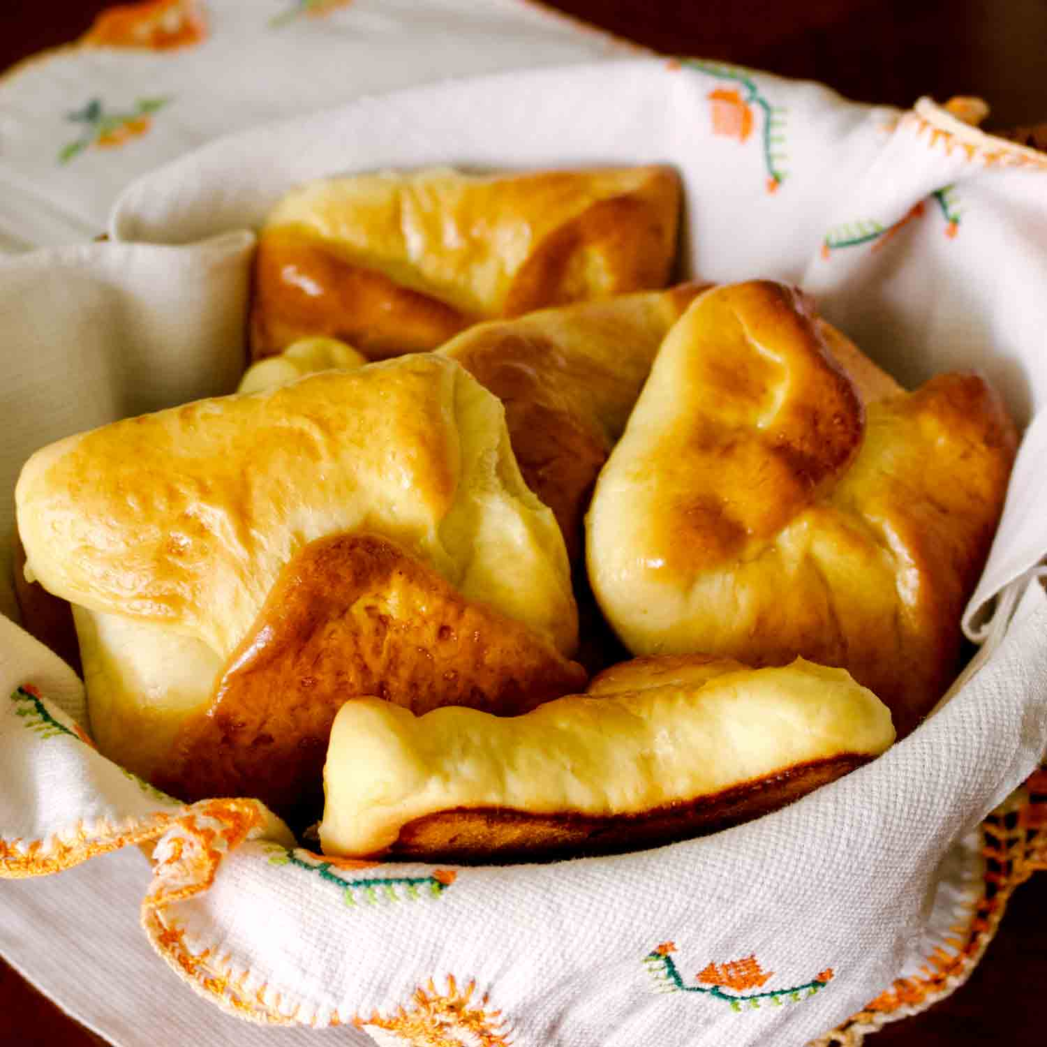 Romanian Traditional Sweet Cheese Pastries- Poale In Brau(Branzoaice)