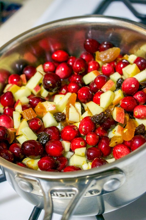 This Cranberry Chutney with Applescould be a delicious addition to your Thanksgiving meal. If you try this recipe you will never buy the cans again.