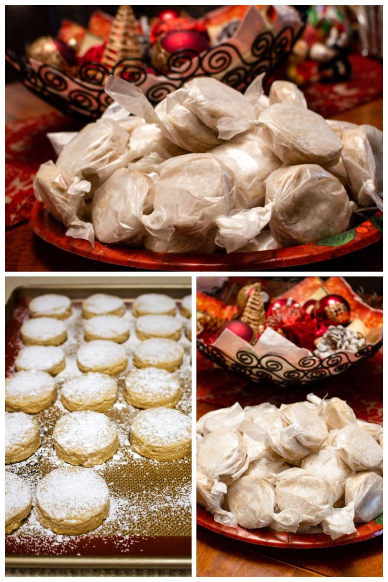 Polvorones Con Limon Traditional Spanish Christmas Cookies 2