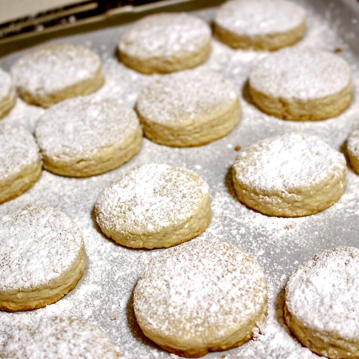 Polvorones Con Limon Traditional Spanish Christmas Cookies1 1