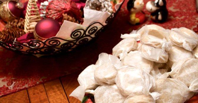 Polvorones Con Limon- Traditional Spanish Christmas Cookies
