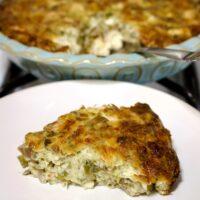 Cheesy Turkey And Mushroom Pie Recipe