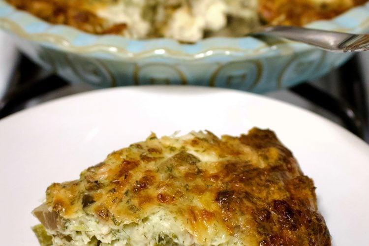 Cheesy Turkey And Mushroom Pie