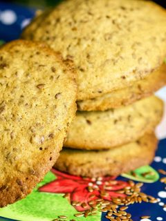 Linseed Cinnamon Cookies 1