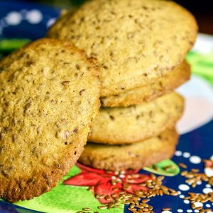 Linseed Cinnamon Cookies