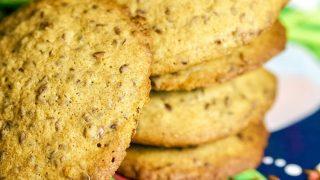 Linseed Cinnamon Cookies 1