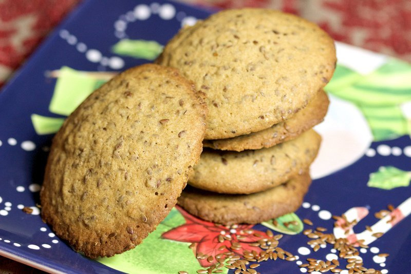 Linseed cookies