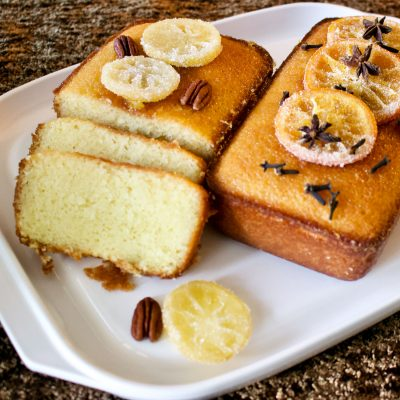 Old Fashioned Lemon Bread with Lemon Syrup