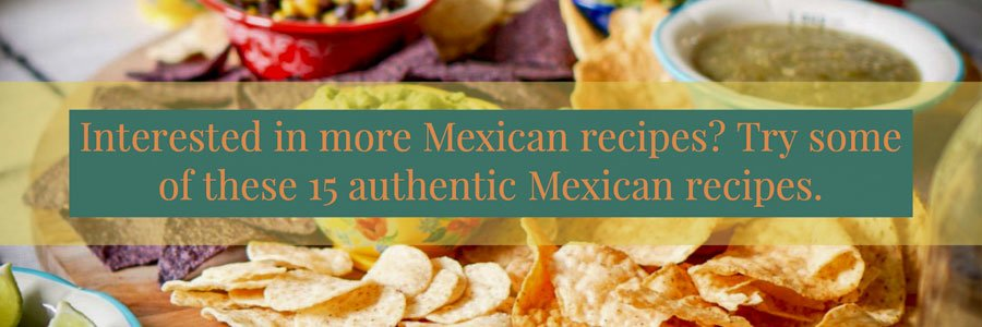 15 authentic MExican recipes5