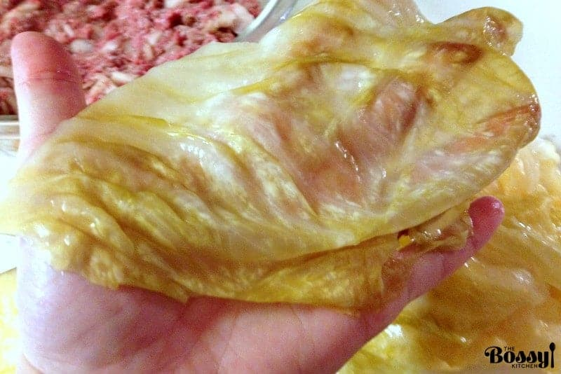 Authentic Romanian Sauerkraut Stuffed Cabbage Rolls- a great recipe for feeding a crowd, take it to potlucks and family reunions.