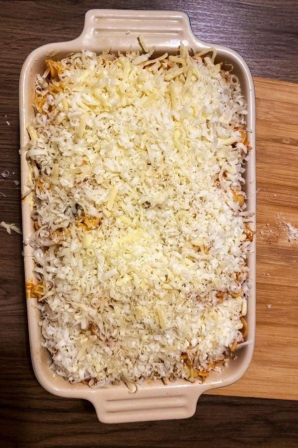 Cheesy Chorizo and Tomato Baked Pasta88