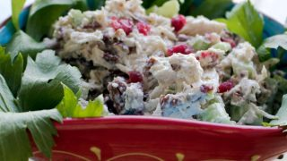 Cranberries Pecans Chicken Salad