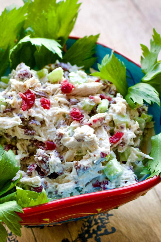 Cranberry Pecan Chicken Salad0