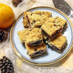 Czech Bars with Jam and Walnuts 1