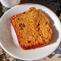 Pumpkin Bread With Walnuts And Raisins Recipe