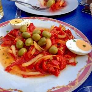 Roasted Red Pepper Spanish Salad 1