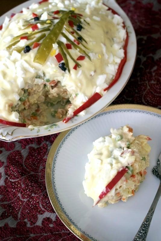 Romanian Beef Salad (Salada de boeuf)