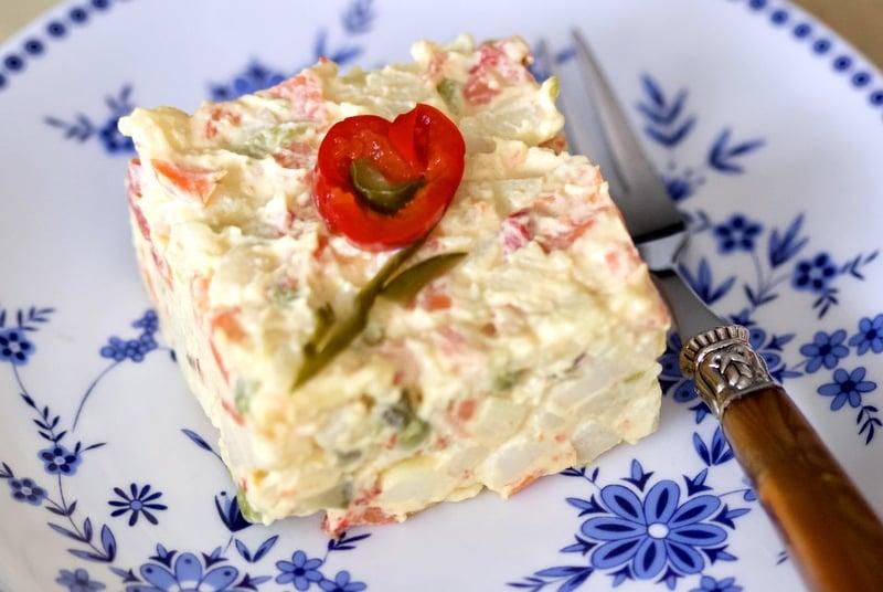 Romanian Beef Salad(Salata De Boeuf)