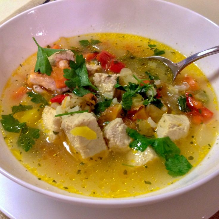 Sour Fish Soup- Romanian style