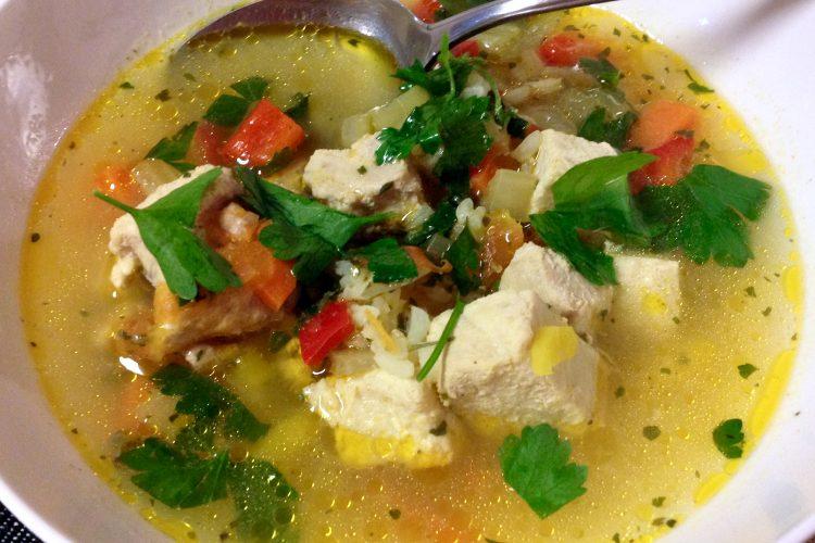 Sour Fish Soup- Romanian style