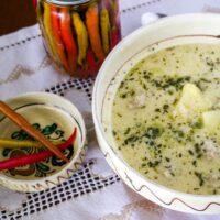 Traditional Saxon Potato Tarragon Soup From Transylvania 1