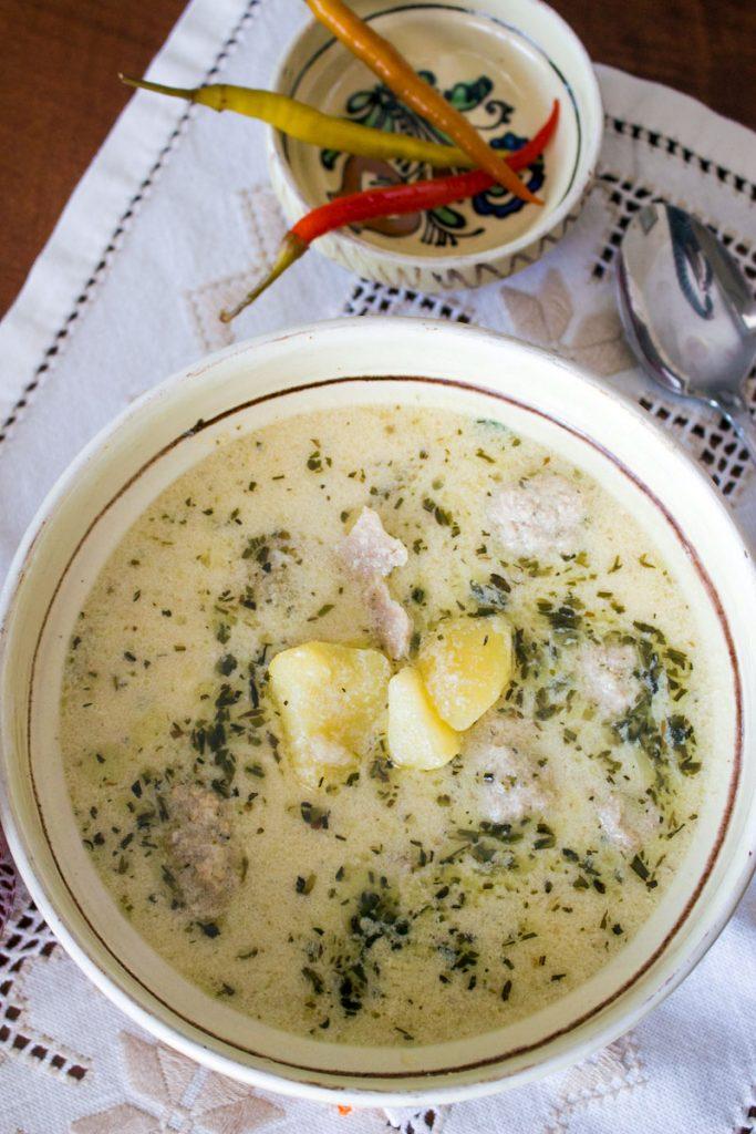 Traditional Saxon Potato Tarragon Soup Pinterest1