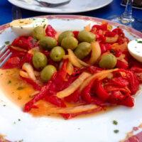 spanish roasted pepper salad33