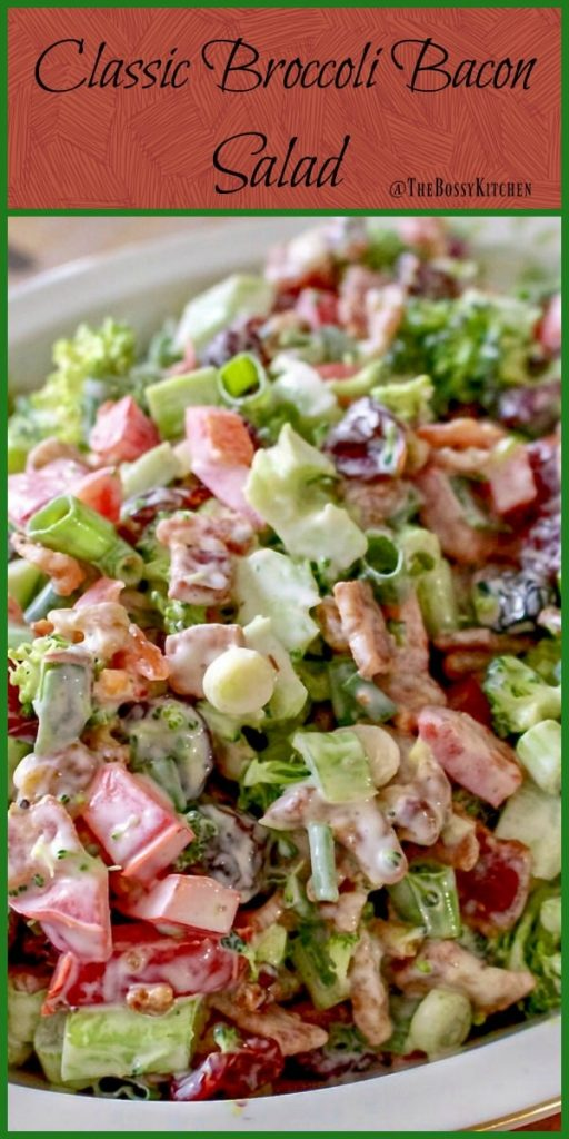 Classic Broccoli Bacon Salad 1