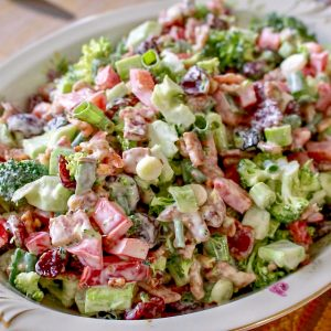 Classic Broccoli Bacon Salad