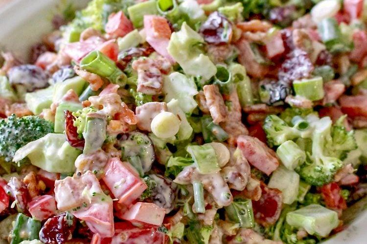 Classic Broccoli Bacon Salad